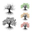 Lonely oak vector image
