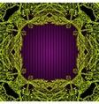square ornamental border vector image