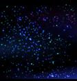 stars sky background vector image