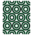 Fashion geometrical pattern with circles vector image