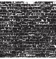 Old Black Bricks vector image vector image