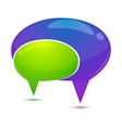 dialogue bubble vector image