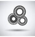 Bearing icon vector image