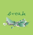 break vector image
