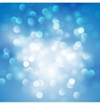 Christmas abstract blue background vector image
