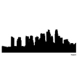 Singapore skyline vector image