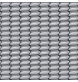 seamless metal fabric background texture vector image vector image