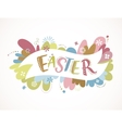 Happy easter - card vector image vector image