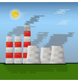 power station vector image