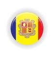 Andorra icon circle vector image