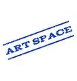 Art Space Watermark Stamp vector image