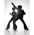 Disco Dancing vector image vector image