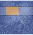 blue jeans background folds background vector image