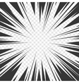 Comics Book Radial Speed Lines Effects with vector image