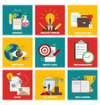 Success icon flat design vector image
