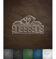 house icon Hand drawn vector image