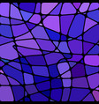 abstract stained-glass mosaic background vector image