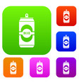 aluminum can set collection vector image