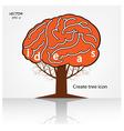 creative tree sign vector image