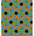 Geometric zigzag seamless pattern endless ethnic vector image
