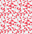 Seamless pattern of geometric vector image