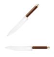 sharp knife vector image