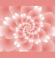 abstract floral spiral background wallpaper vector image
