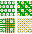 Design seamless flower pattern vector image