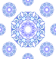 Seamless texture with ornament vector image
