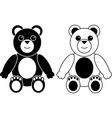 Teddy Bears Background vector image