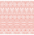 Lace seamless crochet pattern vector image vector image