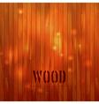 Wooden background vector image vector image