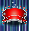 Casino emblem design vector image vector image