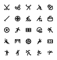 Sports and Games Icons 10 vector image