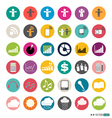 Application Web Icons Set vector image