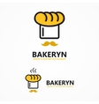 bakery icon or logo vector image
