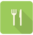 fork knife icon vector image