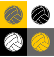 Volleyball-background-sport vector image vector image