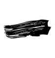 ink brush stroke grunge hand painted vector image