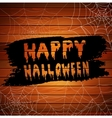 Scary Spider Webs vector image vector image