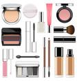 makeup icons set 2 vector image