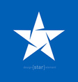 star Abstract design element vector image