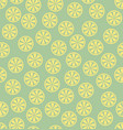lemon pattern seamless vector image