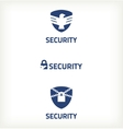 Sybol security vector image