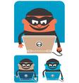 Computer Crime vector image