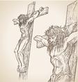 jesus han draw vector image