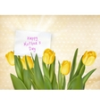 Happy Mothers day Typographical Background EPS 10 vector image