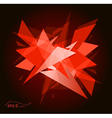 abstract future graphic background vector image