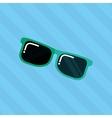 sunglass icon design vector image