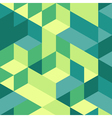 3d blocks structure background vector image